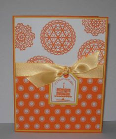 Pumpkin Pie Doilies by gails - Cards and Paper Crafts at Splitcoaststampers