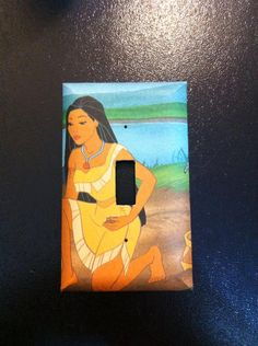 Pocahontas Light Switch Cover