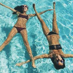 Water babes. @howtwolive || Shop swim: http://www.nastygal.com/clothes-swimwear?utm_source=pinterest&utm_medium=smm&utm_term=make_waves&utm_campaign=ngdib