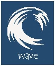 wave cross stitch pattern