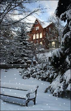 Schneefall - Gif
