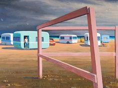 Jeffery Smart. Frank Jeffrey Edson Smart, AO (26 July 1921 – 20 June 2013) was an expatriate Australian painter known for his precisionist depictions of urban landscapes.