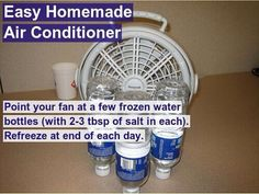 Homemade air conditioner