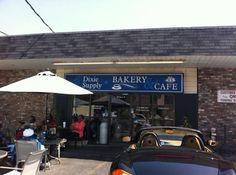 Dixie Supply Bakery and Cafe, Charleston, SC.  Their tomato pie is to die for!