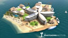 The French Polynesian government has signed an agreement with the nonprofit organization The Seasteading Institute to cooperate on creating legal frameworkfor the development of a floating island. http://maritime-executive.com/article/french-polynesia-plans-floating-island