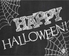 Happy Halloween chalkboard sign images