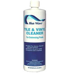 blue wave tile and vinyl cleaner for swimming pools tub
