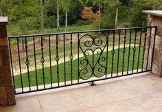wrought iron railing ideas
