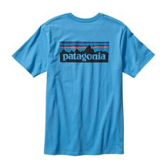 Patagonia Men's P-6 Logo Cotton T-Shirt- Skipper Blue from Shop Southern Roots TX