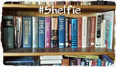 Sunday #Shelfie - My books tell more about me than any silly photo