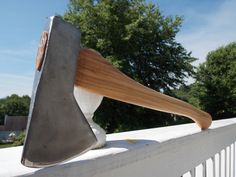 Hudson Bay axe with new 22 inch American Hickory handle weighs 2 lb 14 oz by AppalachianAxeworks on Etsy