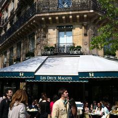 The Left Bank, Paris.  One of Hemingway's favourites.