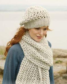 1f315ae2e6a2e gorro de lana mujer beanie boina tejido artesanal invierno Gorro Con Bufanda  Tejido