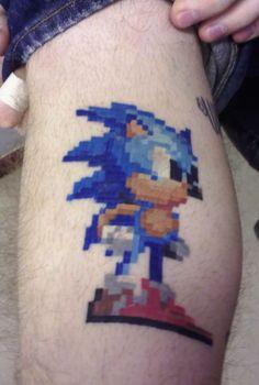 Guerrilha Nerd: Tattoos em 8bits! Veja alguns exemplos do máximo de nerd que uma tatuagem pode ser [33 Fotos]