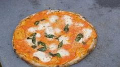 """James Martin makes a chilli and tomato pizza and a lobster calzone pizza using double zero flour as part of his Homemade Take Outs segment on today's episode of James Martin: Home comforts. James's ingredients includes a habanero chilli to give a little extra heat, mozzarella cheese, double zero flour, sugar, pinch salt, dried yeast, and Italian plum tomato. The Saturday Kitchen chef says: """"This recipe makes enough dough for two pizzas and two lobster filled calzones. Take your pick! The ..."""