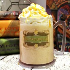 This is THE BEST butterbeer recipe ever! This one is for the frozen version, but stay tuned for the hot version and soon to come thereafter....the adult only version!!