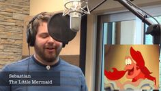 "How amazing is this guy?!  ""Let It Go"" as various Disney characters"