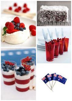 Australia Day {a great Aussie soiree} Aussie Bbq, Aussie Food, Aussie Memes, Australian Party, Australian Food, Australian Recipes, Australia Day Celebrations, Anzac Day, Dessert Recipes