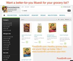 Muesli - Want a healthy muesli for your grocery list?