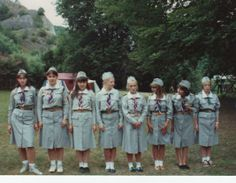 Polish Girl Scouts (ZHP) from the late 1990s