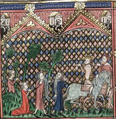 Bodleian Library MS. Bodl. 264, The Romance of Alexander in French verse, 1338-44; 71v
