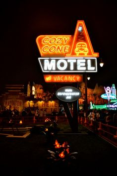 Have you been to the Cozy Cone Motel?