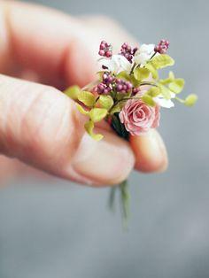 miniature*  食器作り直し : natural色の生活~handmade家具