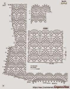 Todo crochet: Blusa con diseño delicado - crochet con patrón