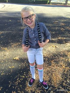 Homemade nerd costume ideas costumes pinterest nerd costumes easy diy nerd costume nobiggie solutioingenieria Image collections
