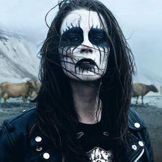 Image result for black metal pinup