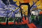 Autumn in the Park - Natalia Goncharova - The Athenaeum