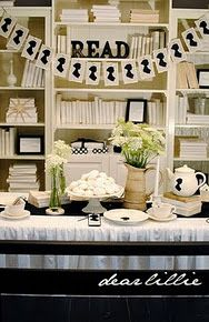 A Jane Austen party--this is on my to-do list. Just need an excuse to have one. Or not.
