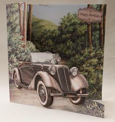 45 best car themed decoupage kits for download images on pinterest