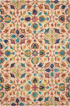 Contemporary Rugs, Modern Rugs, Home Design, Modern Design, Nourison Rugs, Textiles, Traditional Rugs, Persian Rug, Colorful Rugs