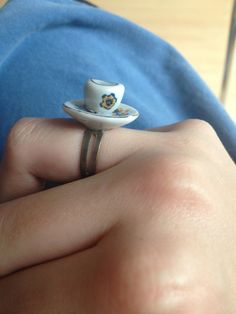 Tea Cup Ring via WishStrings. Click on the image to see more!