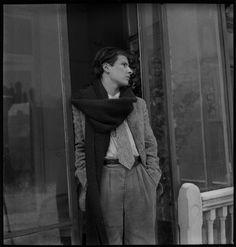 Lucian Freud, ca 1945 -by Francis Goodman