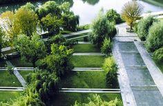 Exxon HQ gardens
