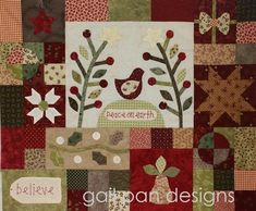Block 3. Gail Pan Christmas BOM