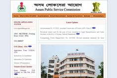 Assam Public Service Commission ACF Class I Notification 2018 Released