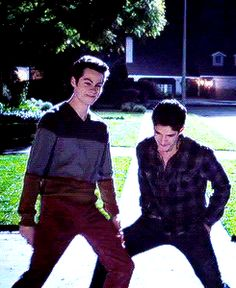 "No seriously, his hips* don't lie. | 22 Times The ""Teen Wolf"" Cast Was Too Adorable For Words"