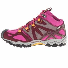 Merrell Womens Grassbow Mid Sports GORE-TEX Waterproof Trekking Hiking Boots #Merrell #WalkingHikingTrail