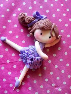 bailarina ballet de fondant