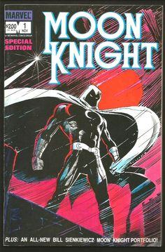 MOON KNIGHT #1 Comics 1983 SPECIAL EDITION Range: FINE+/VF- Moench, Sienkiewicz