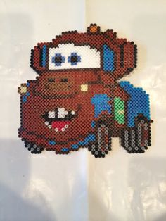 Matter Cars perler beads by BayCollections1 - substitute chart for cross stitch