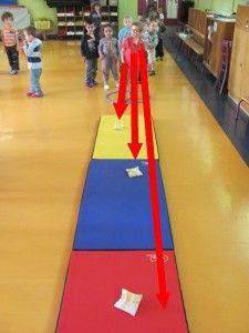 lancer loin et fort maternelle Pe Games, Games For Kids, Sensory Activities, Physical Activities, Pe Lessons, Teaching Social Skills, Gross Motor Skills, Exercise For Kids, Physics