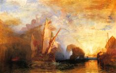 William Turner's Ulysses deriding Polyphemus
