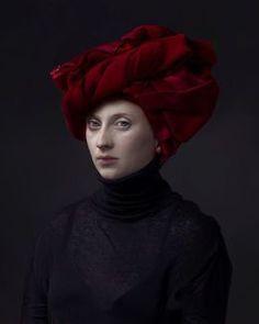 Hendrik Kerstens, 'Red Turban,' 2015, Jenkins Johnson Gallery