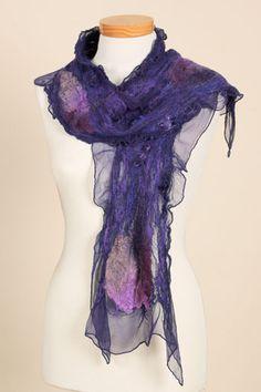 Silk Shawls by Ellie Marbus