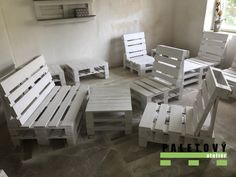 Outdoor Furniture Sets, Outdoor Decor, Stylus, Pallets, Home Decor, Pallet Ideas, Furniture From Pallets, Lawn And Garden, Decoration Home