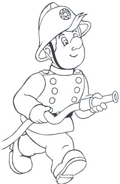 firefighter coloring pages - Free Large Images